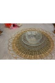 Yuvarlak Bambu/Deresazı Handmade Supla 1 Tane